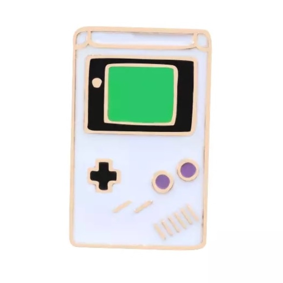 NEW Gameboy Video Game Machine Enamel Pin Brooch Boutique